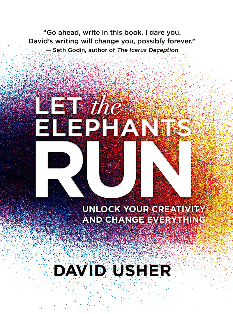 Cover of Let the Elephants Run Signed Hardcover Edition