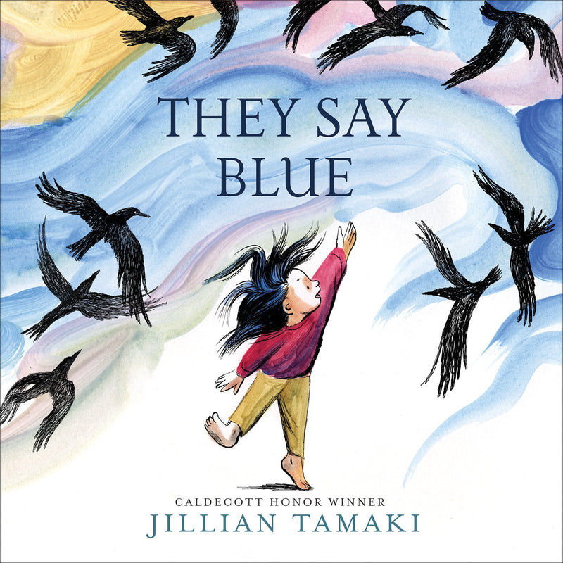 Cover of They Say Blue Signed Edition