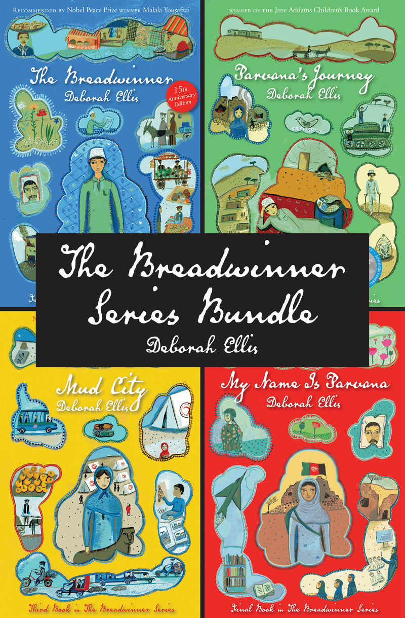 Cover of The Breadwinner Series Bundle