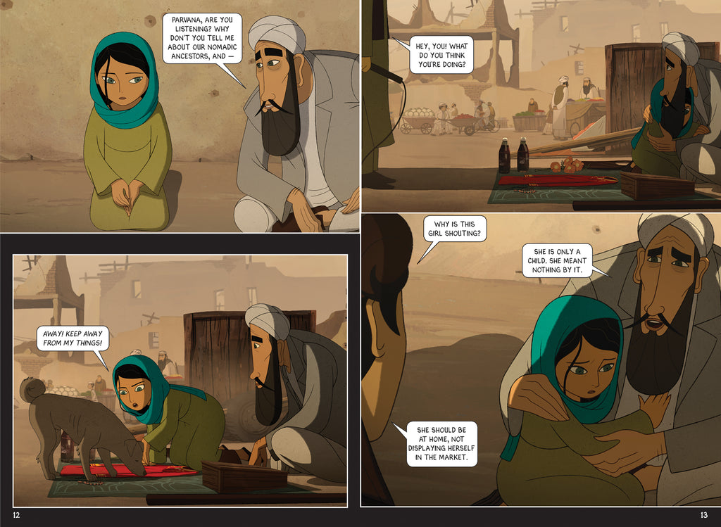 The Breadwinner: A Graphic Novel – House of Anansi Press