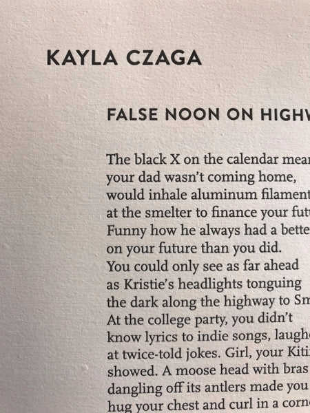False Noon on Highway 16 by Kayla Czaga (from Dunk Tank)