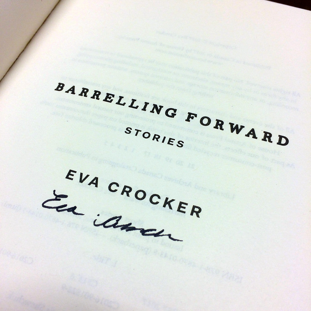 Barrelling Forward Signed First Edition Paperback