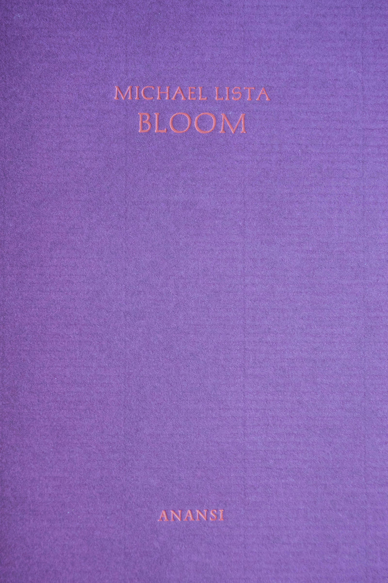 Cover of Bloom chapbook