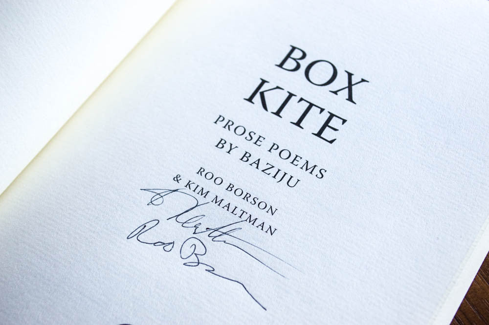 Box Kite Signed Paperback Edition