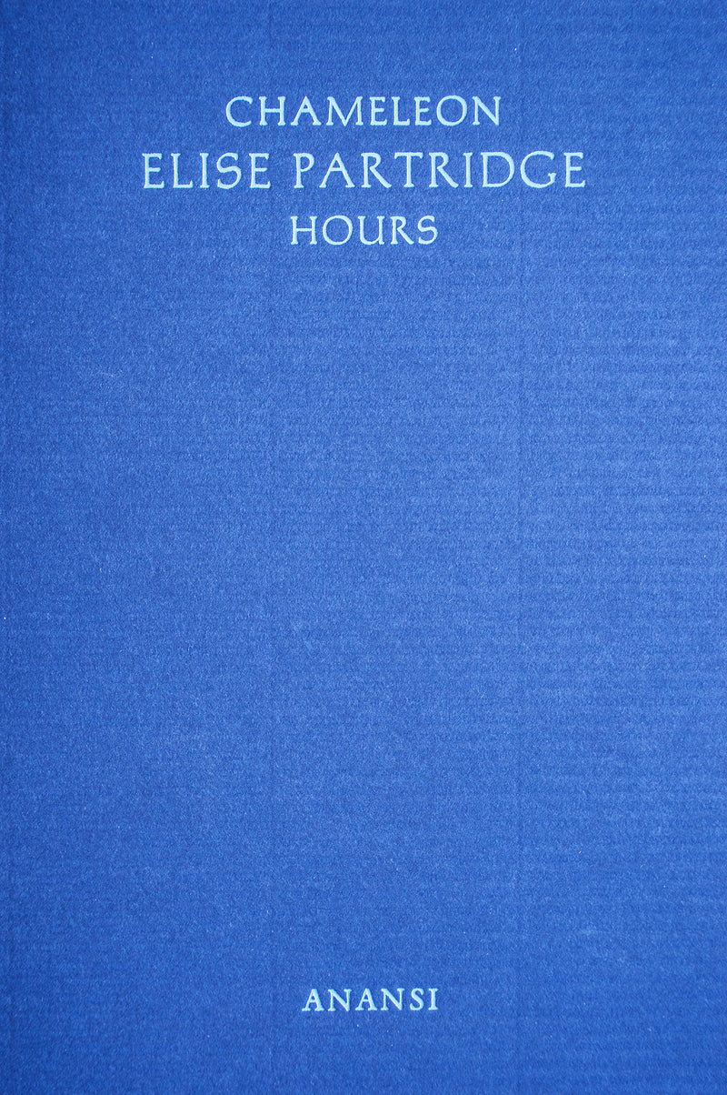 Cover of Chameleon Hours chapbook