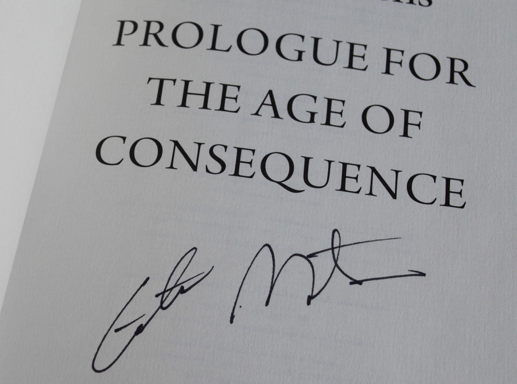 Prologue for the Age of Consequence Signed Paperback Edition