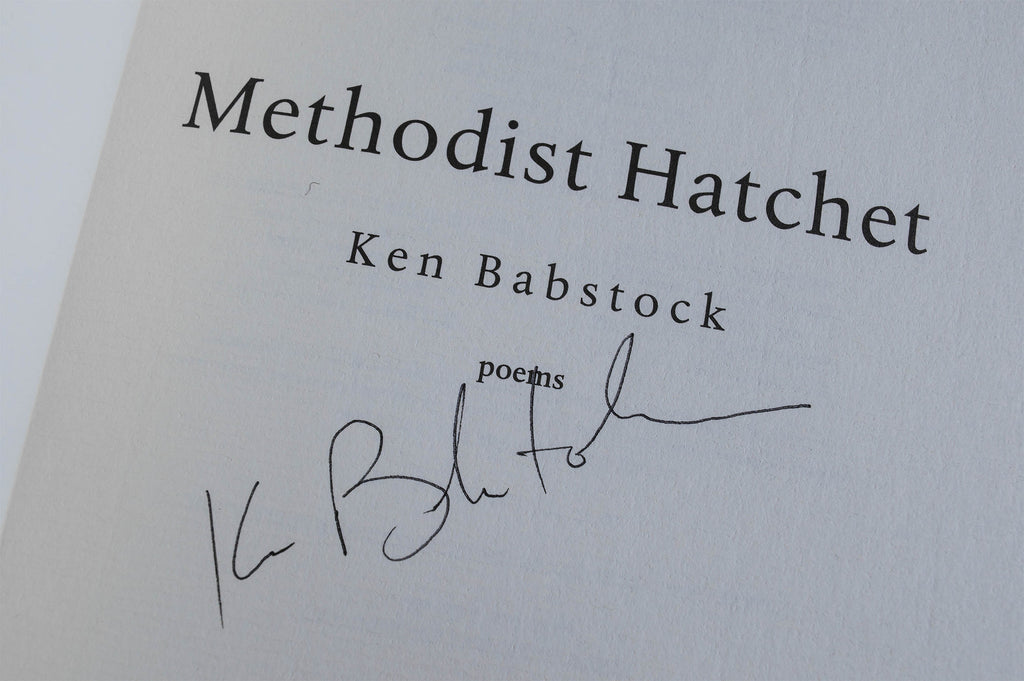 Methodist Hatchet Signed Paperback Edition