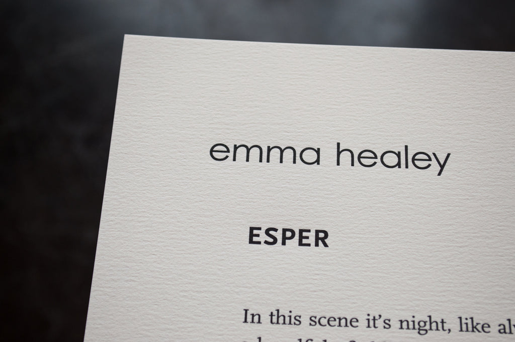 Esper by Emma Healey