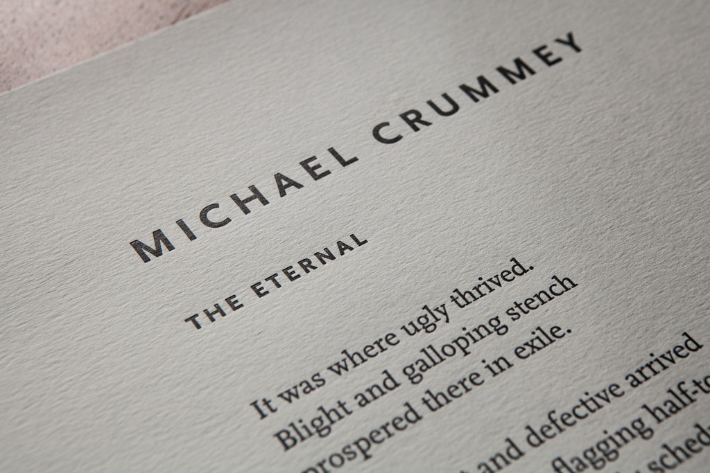 The Eternal by Michael Crummey