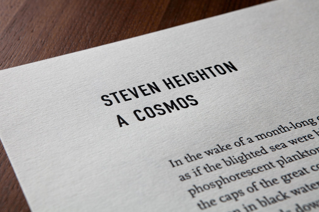 A Cosmos by Steven Heighton