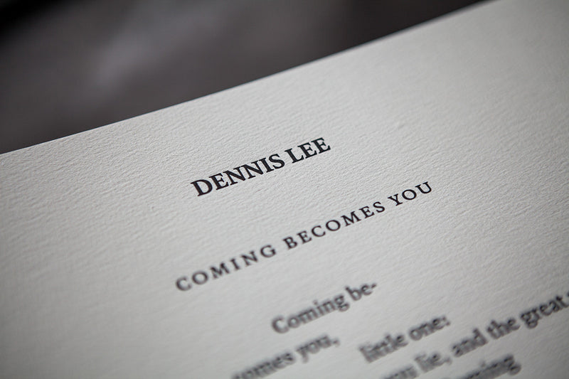 Cover of Coming Becomes You by Dennis Lee
