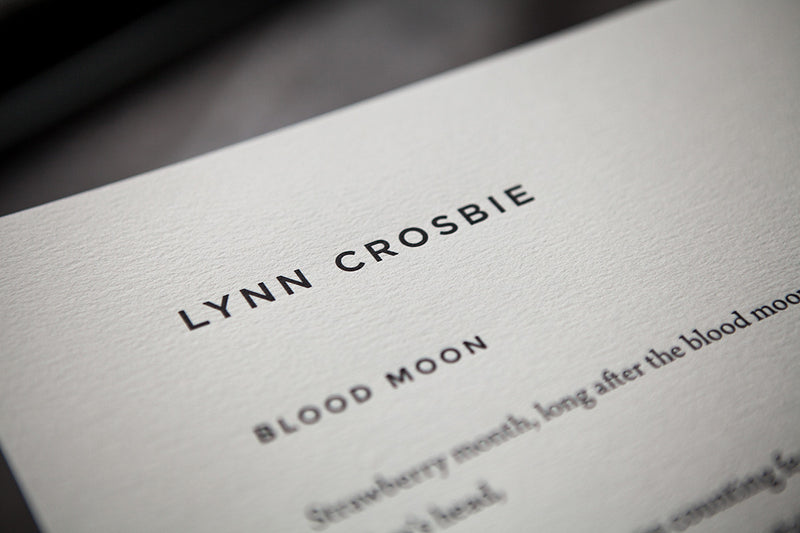 Cover of Blood Moon by Lynn Crosbie