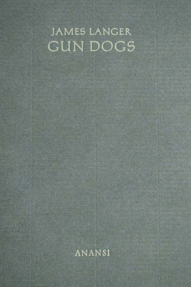 Cover of Gun Dogs chapbook
