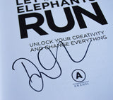 Let the Elephants Run Signed Hardcover Edition