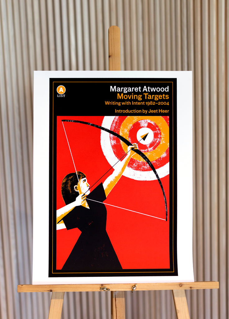 Moving Targets by Margaret Atwood Screen-Printed Poster