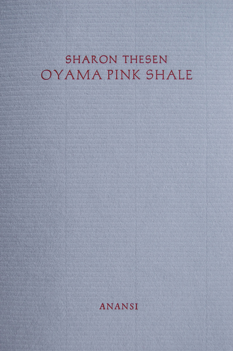 Cover of Oyama Pink Shale chapbook