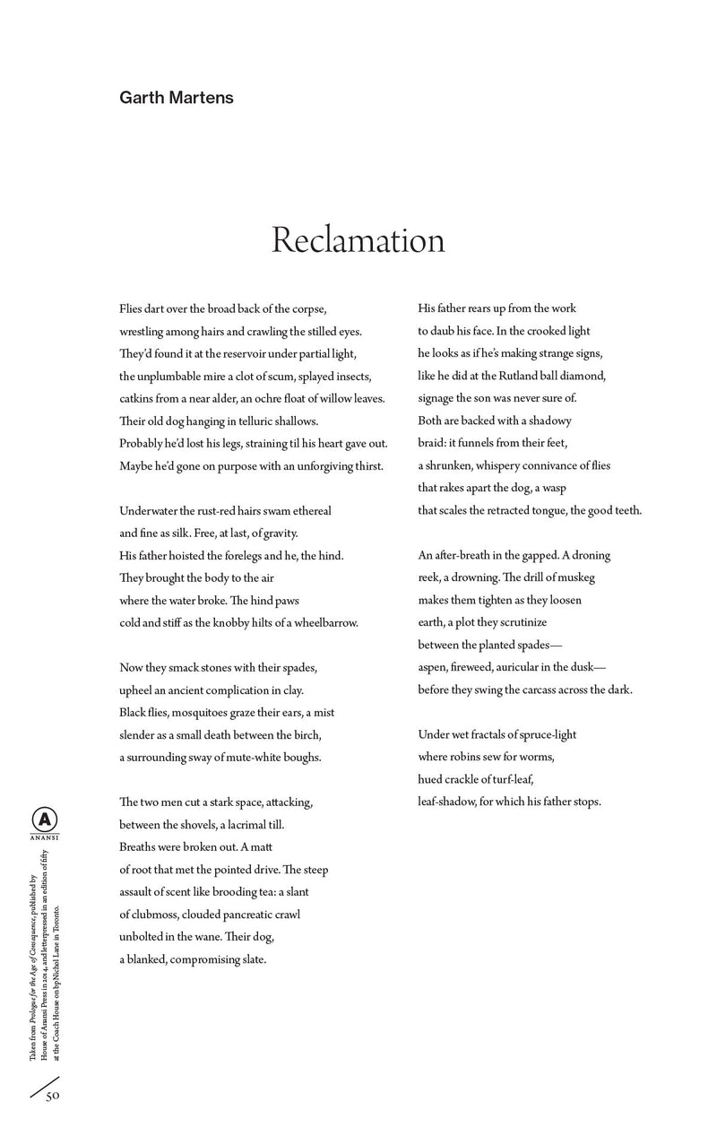 Cover of Reclamation by Garth Martens
