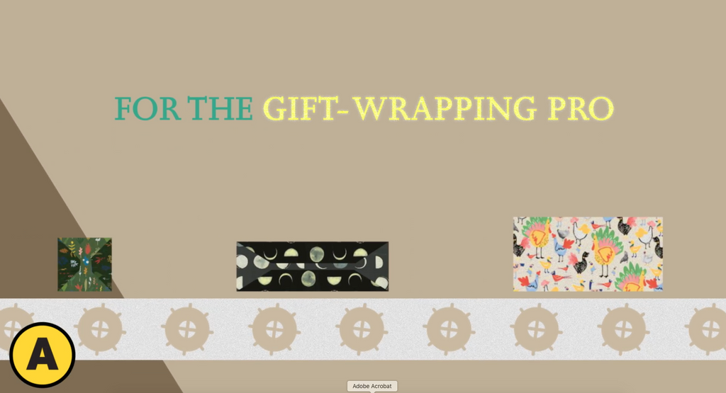 For the Gift-Wrapping Pro