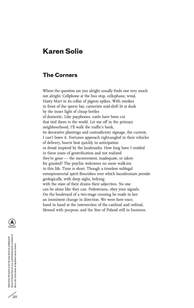 Cover of The Corners by Karen Solie