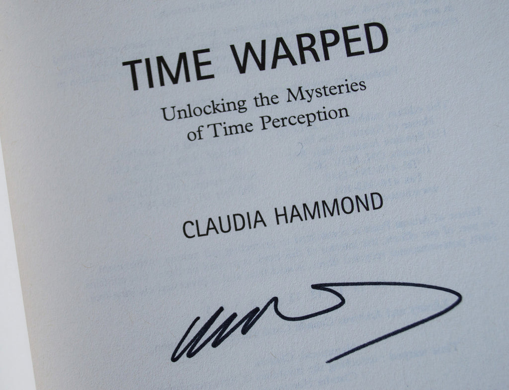 Time Warped Signed Paperpack Edition