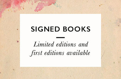 Signed Books, Limited Editions, and First Editions