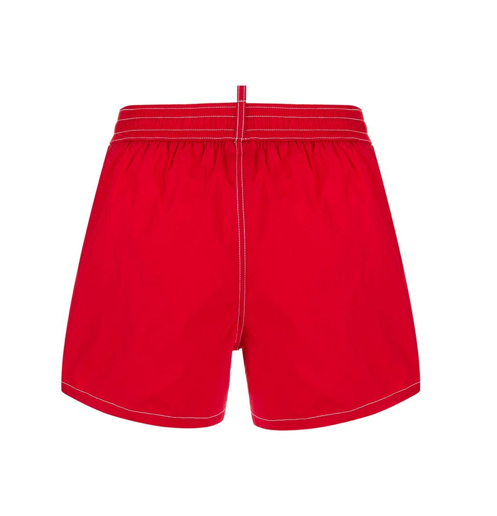 Costume Mirrored D2 Swim Shorts Dsquared2