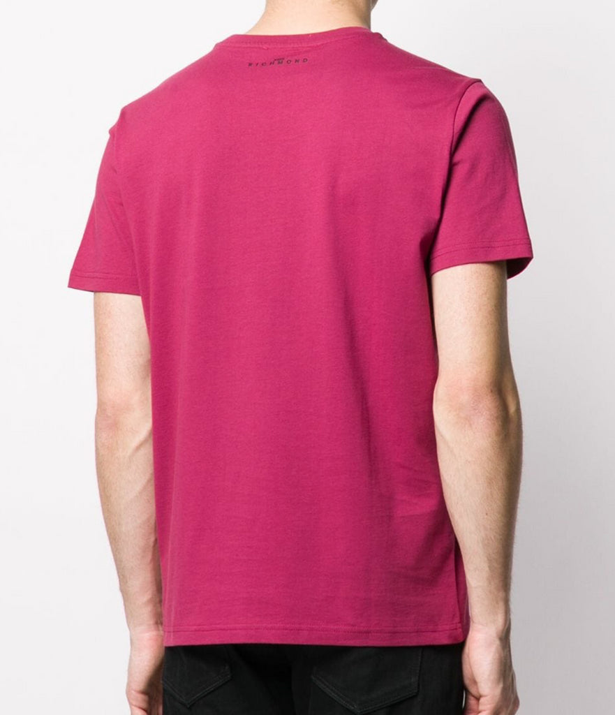 T-shirt con stampa logo John Richmond