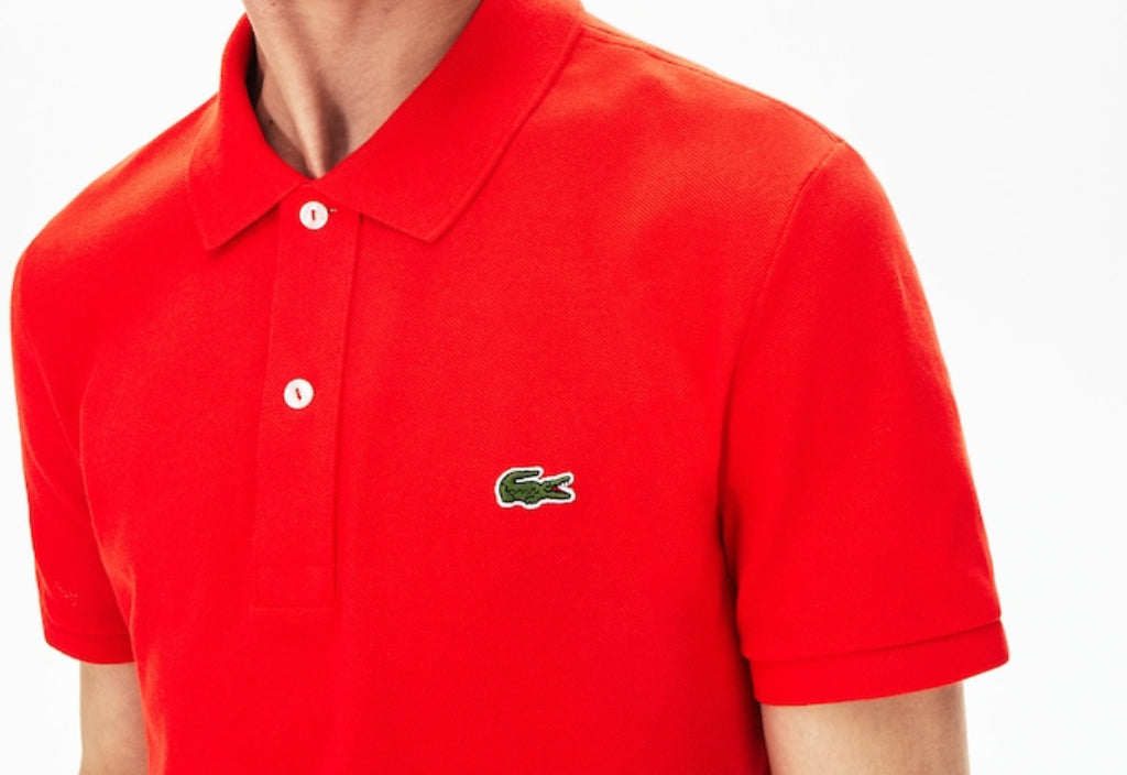 Polo slim fit in piquè Lacoste