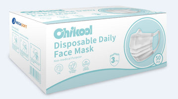 Chikool black Disposable Daily Face Mask