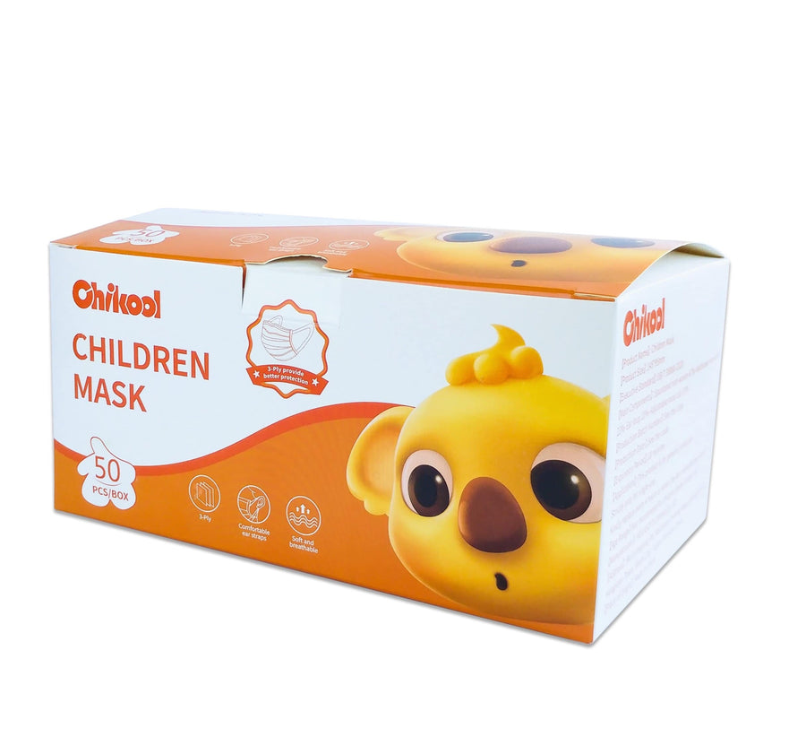 Children Protective Face Mask Age under 12  (50 PCS/Box)