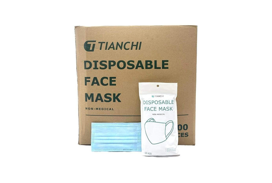 Watchtower Supplies Face Mask DISPOSAL FACE MASKS (WIDE EARLOOPS)