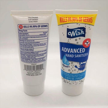Wish Hand Sanitizer Wish Advanced Hand Sanitizer 3.38 fl. oz (100 ml)