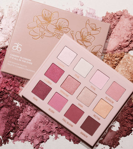NEW! Arbonne Cherry Blossom It's All in the Eyes Eye Shadow Palette