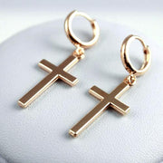 Women Cross Pendant  Earrings Jewelry - Bobsel