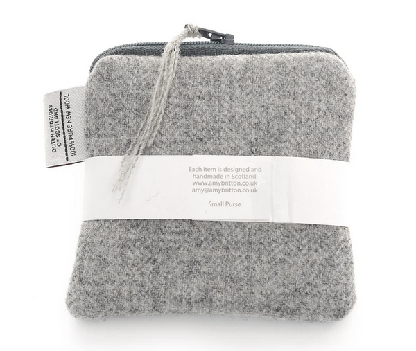 Landscape Harris Tweed® Coin Purse