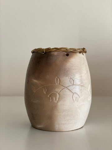 Vase with Mi'Kmaq Design