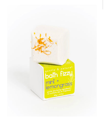 Bath Fizzy - UPLIFTING Lemongrass & Mint