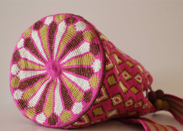 Wayuu Mochila Silk Bag - Large