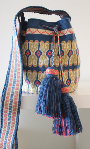 Wayuu Mochila Silk Bag - Medium