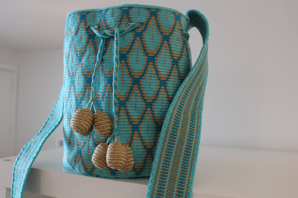 Wayuu Silk Mochila Bag - Medium