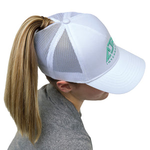 Pony Tail Adjustable Cap