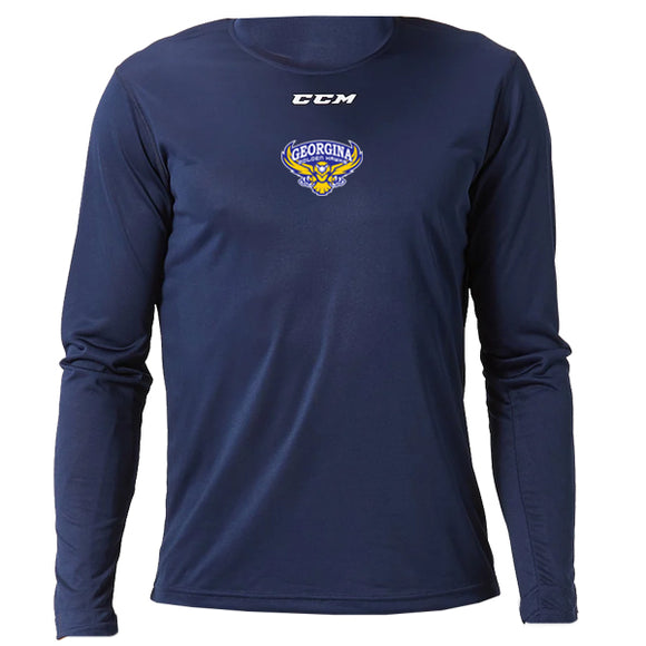 CCM Long Sleeve Training Tech Tee - YOUTH
