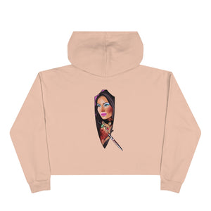 LOVE WITCH Crop Hoodie