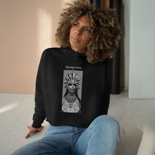 Load image into Gallery viewer, QUEEN OF THE DAMNED Aaliyah Crop Hoodie