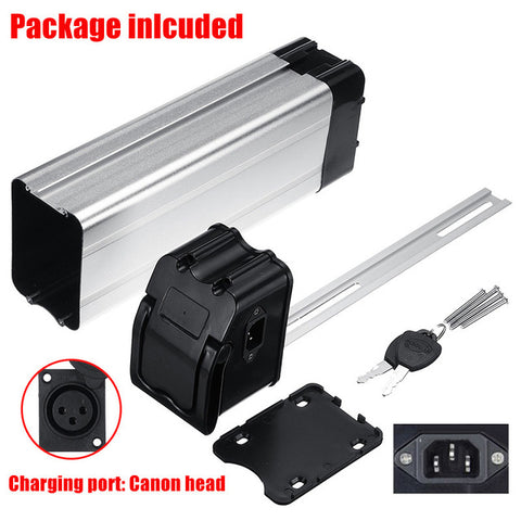 1pcs Plastic lithium battery Box for Electric Bike 36V/48V Large Capacity 18650 Holder Case durable electric bicycle accessories