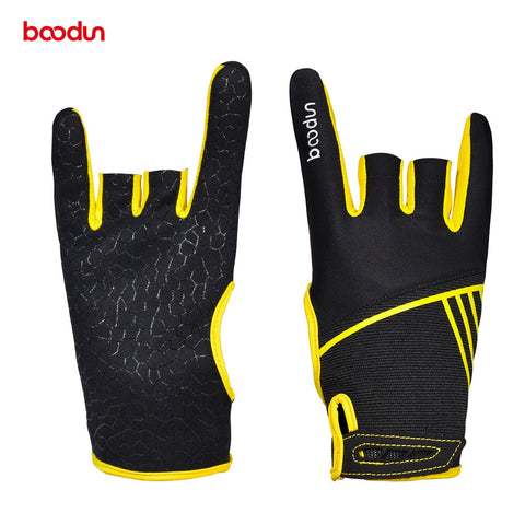 1 Pair Boodun Professional Men Women Bowling Gloves
