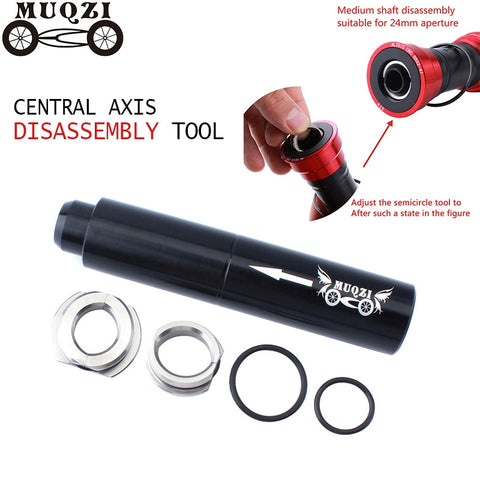 MUQZI Mountain Bike Road Bike BB30 BB90 Central Axis Palin Thread Press-In Central Axis Disassembly Tool