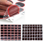 48Pcs Of 25MM Bike Tire Patch Round Bicycle Tire Tyre Rubber Patch Piece Cycling Puncture Repair Tools TSLM1
