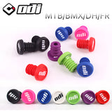 2Pcs ODI Bicycle Bar End Plugs Handlebar Caps Lightweight  Fit MTB BMX DH FR Balance bike parts Accessories