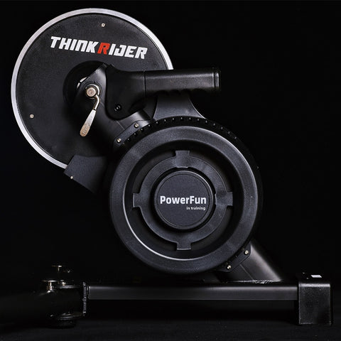Thinkrider X7 3 Smart Bicycle Trainer Stand Indoor MTB Road Bike Carbaon Fiber Frame Built-in Power Meter Bike Trainers